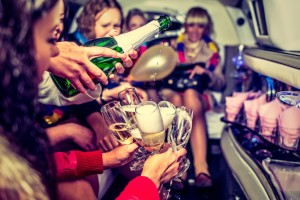 Step up your bachelorette party with a limo rental or party bus rental in DFW.