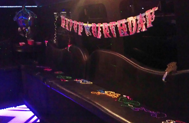 birthay special occasion limo party bus