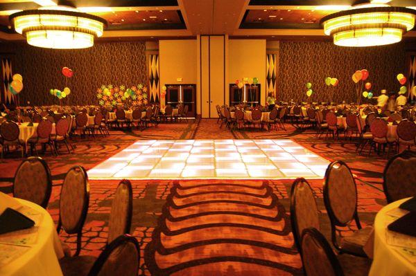 LED Lighted Dance Floors Dallas TX