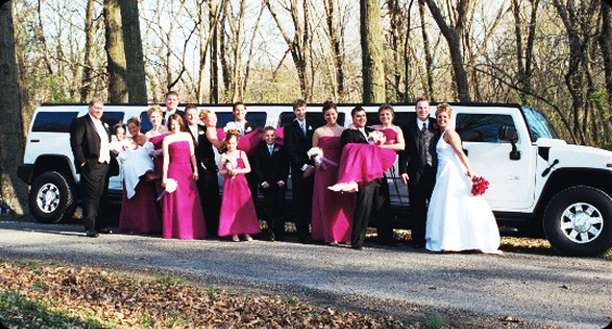 Wedding Limousine Rental Dallas TX