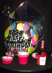 birthday celebration event planning limos