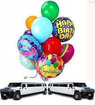 birthday party hummer limo bus